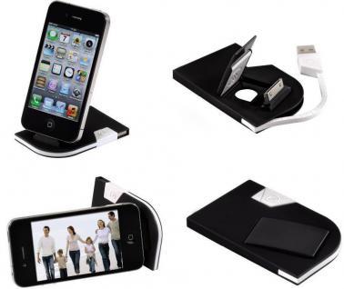 Hama Dock Card Docking USB-Kabel Ladegerät für Apple iPod Nano Touch Classic etc