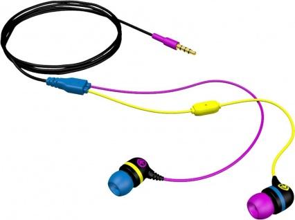 Aerial7 Sumo Storm InEar Headset Mikrofon 3, 5mm Klinke Kopfhörer für Handy MP3