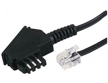 Hama 15m Telefon-Kabel TAE-Kabel Modular-Stecker für Siemens Optipoint Optiset