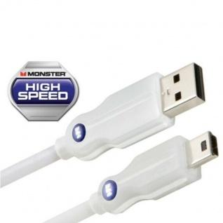 Monster HQ 0, 91m USB-Kabel 800 Mbps High-Speed Mini-B-Stecker Mini-USB 2.0 PC