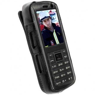 Krusell Cover Handy-Tasche + Multiadapt Leder für Samsung B2700 Schutz-Hülle