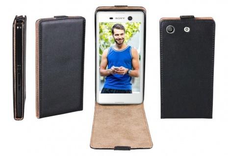 Patona Slim Flip-Cover Klapp-Tasche Schutz-Hülle Cover Case für Sony Xperia M5