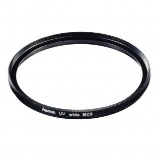 Hama UV-Filter MC 40, 5mm Slim Schutz-Filter UV-390 Kamera DSLR DSLM Objektiv etc
