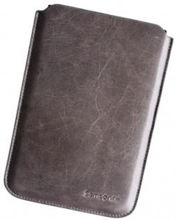 "Samsonite Toledo Leder-Etui Tasche Hülle Grau für Tablet PC eBook-Reader 6"" 7"