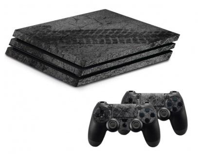Design-Folie Skin Auto-Rennen Gehäuse-Aufkleber für PS4 PRO Konsole Controller