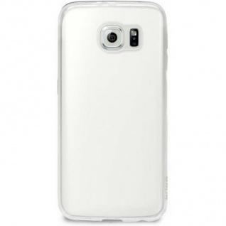 Puro Ultra Slim 0.3 Cover Silikon Case Schutz-Hülle Tasche für Samsung S7 Edge