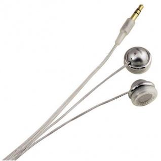 Hama In-Ear Stereo Kopfhörer HK-258 Headphone 3, 5 Klinke Weiß MP3 Player Handy