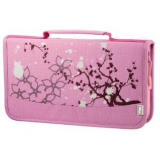 aha 64er CD DVD Blu-Ray Tasche Pink Wallet Case Aufbewahrung Hülle Mappe Box Bag