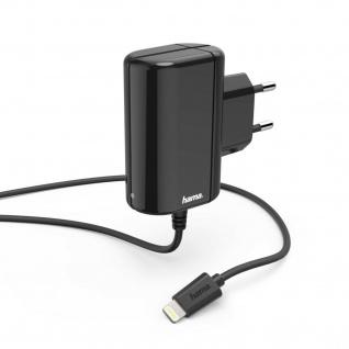 Hama Ladegerät Lightning 5W Schnell Laden 1m für Apple iPhone iPod iPad