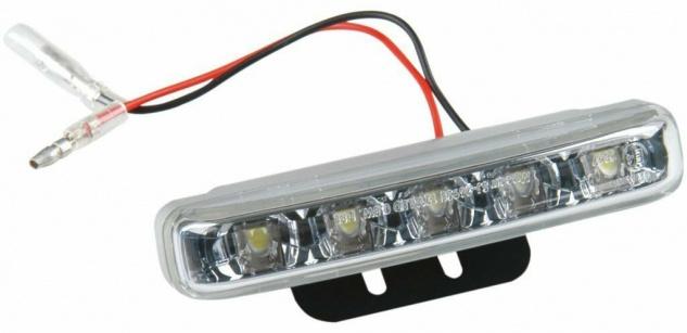 LED Positions-Licht 12V Tagfahrlicht Tagfahr-Leuchte Motorrad Motor-Roller Quad