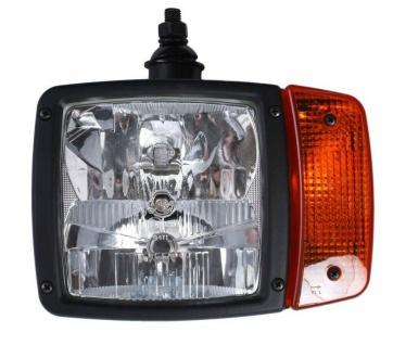 Hella Haupt-Scheinwerfer Links Modul 120 24V Front-Lampe Blinker AMP für NKW LKW