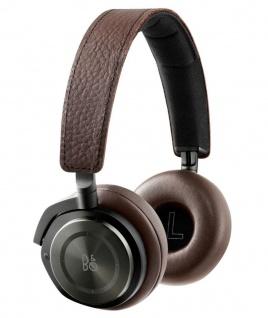 B&O Play by Bang & Olufsen H8 Gray Bluetooth On-Ear Headset Wireless Kopfhörer