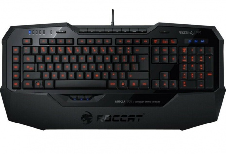 Roccat Isku FX RGB Multi-Color Gaming Tastatur LED Deutsches DE Layout Keyboard