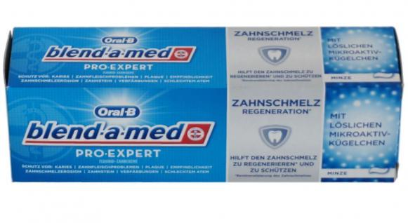 blend-a-med Oral-B Pro Expert Zahnpaste 75ml Zahncreme Zahnschmelz Regenerator