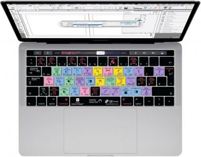 """KB Tastatur-Abdeckung Shortcuts Cover Schutz für InDesign MacBook Pro 13"""" 15"""