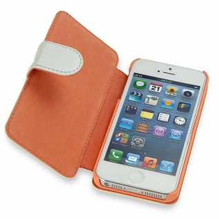 Telileo Wallet Klapp-Tasche Leder Cover Case Hülle für Apple iPhone SE 5SE 5s 5