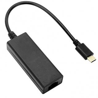 Speedlink HQ USB-C auf Ethernet Adapter-Kabel LAN Netzwerk-Adapter Typ C zu RJ45