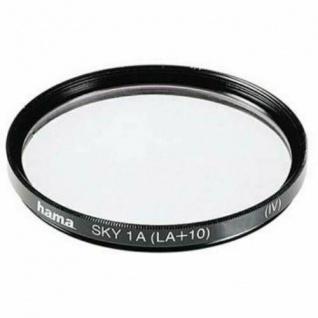 Hama Skylight-Filter 49mm Sky-Filter 1A HTMC-vergütet für DSLR DSLM Kamera Foto
