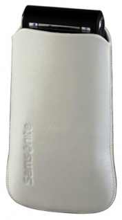 Samsonite Handy-Tasche Sleeve Toledo Gr. S weiß Köchertasche Etui Case Bag Hülle