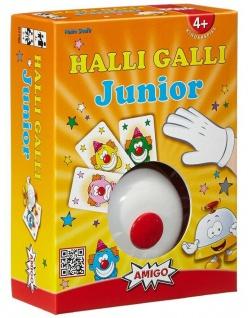 Amigo Halli Galli Junior Auf die Glocke fertig los! Kartenspiel Kinder-Spiel