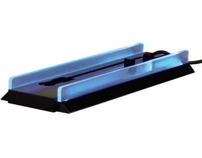 Hama Standfuß beleuchtet Stand vertikal Ständer Halterung für Sony PS4 Konsole