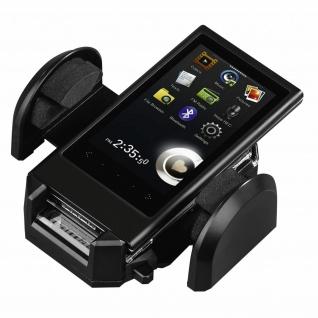 Hama Universal Klemm-Halterung Auto Klebepad Lüftung für Smartphone 4-11cm