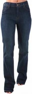 Original Levi's Damen Jeans-Hose 627 High Waist Straight Woman Dunkel-Blau Levis
