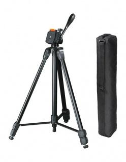 Hama Dreibein-Stativ Delta Duo 170 cm 3D Kamera-Stativ Foto-Stativ 3-Wege-Kopf