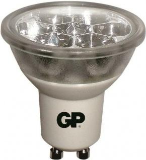 GP LED Strahler GU10 1, 6W/15W Reflektor Warmweiß 2950K Lampe Birne Leuchtmittel - Vorschau 3