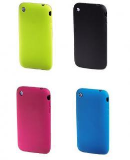 Hama SET 4x Silikon Skin Schutz-Hülle Tasche Case Cover für Apple iPhone 3G 3GS