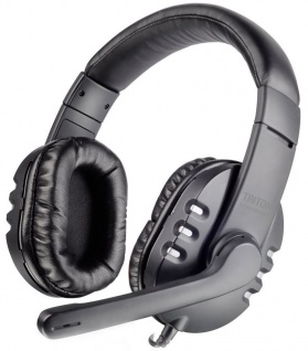 Speedlink Triton Over-Ear Gaming Headset 3, 5mm Klinke Kopfhörer + Bügel-Mikrofon