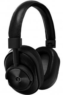 Master & Dynamic MW60 Black Wireless Headset Bluetooth Leder Kopfhörer Earphones