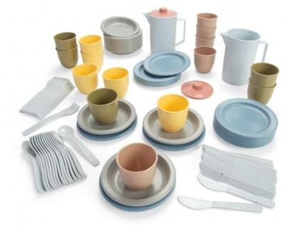Dantoy großes Essens-Set Kinder-Besteck Teller Becher Tafel-Geschirr Geschenk