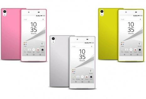 Puro Ultra Slim 0.3 Cover TPU Display-Folie Case Schutz-Hülle für Sony Xperia Z5
