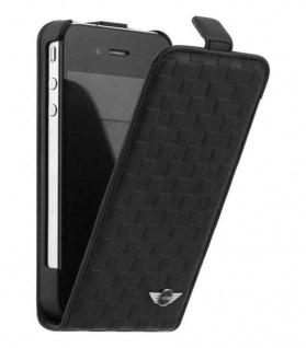 Original MINI Flip-Cover Klapp-Tasche Schutz-Hülle Case für Apple iPhone 4s 4