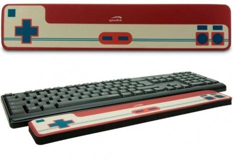 SL Retro Gamer Pad Handballenauflage Tastatur Ergonomisch Auflage PC Notebook