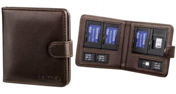 Hama Speicherkarten-Tasche Vegas Etui Case für Sony Memory-Stick MS Pro Duo / M2