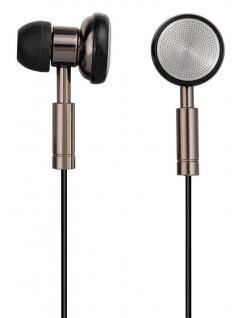 Hama PC-Headset HS-75 Stereo In-Ear Computer-Kopfhörer 3, 5mm Klinke Titan