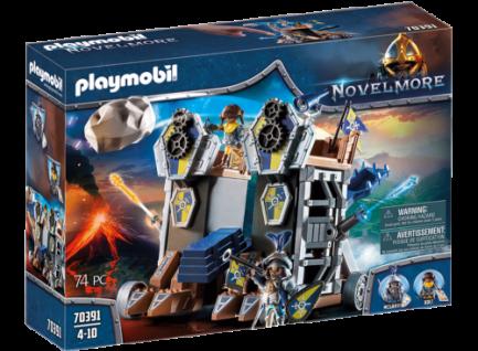 Playmobil 70391 Novelmore Mobile Katapultfestung Mittelalter Burgen Ritter