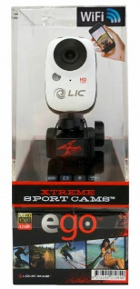 Liquid Image EGO 727 WiFi Action-Cam Sport Kamera Full HD 1080p Helmkamera Video