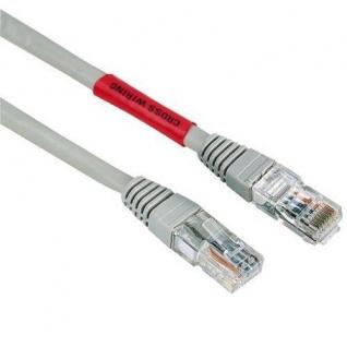 Hama 5m Cat5e Cross-Over UTP Netzwerk-Kabel Patch-Kabel LAN-Kabel Cat5 Gigabit