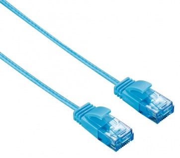 Hama CAT 6 Patch-Kabel Netzwerk-Kabel DSL LAN Ethernet RJ-45 Dünn Flach-Kabel