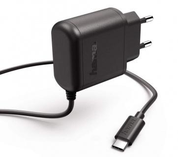 Hama Schnell-Ladegerät USB-C 3A Netzteil Netz-Lader für Samsung Huawei LG Sony