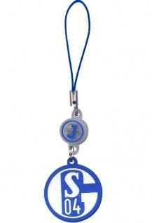 J-Straps Taschen-Anhänger FC Schalke 04 Handy-Schmuck Schlüssel-Anhänger Ring