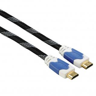 Hama High Speed HDMI-Kabel mit Ethernet 1, 5m 4k Vergoldet HDTV 10, 2Gbit/s