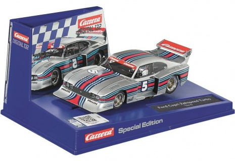 Carrera Digital 132 Ford Capri Zakspeed No.5 Fahrzeug Special Edition 30862 Auto