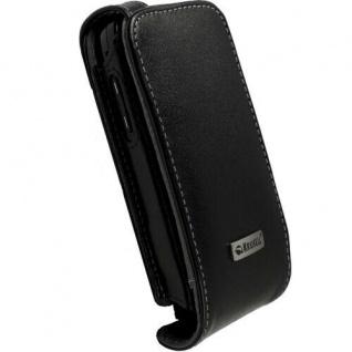 Krusell Leder-Tasche Orbit Flex Case für Samsung Omnia II I8000 Schutz-Tasche