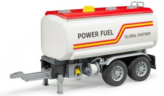 Bruder LKW Tankanhänger Anhänger Tanker mit Pumpe für MACK 02827 MAN 03775 etc