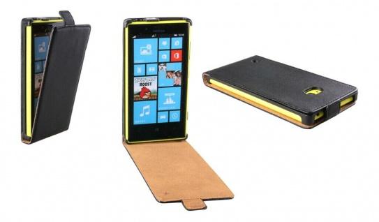 Patona Slim Flip-Cover Klapp-Tasche Schutz-Hülle Cover Case für Nokia Lumia 720