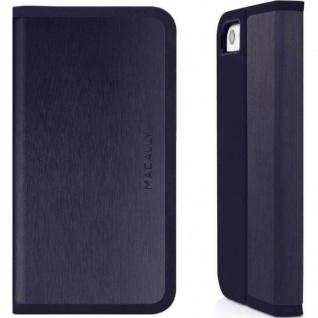 Macally Flap Case Smart Flip-Cover Klapp-Tasche Ständer Bag für Apple iPhone 5C
